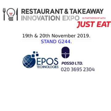 Inteltec & ePOS Technologies: Exhibiting at the Takeaway Innovation Expo